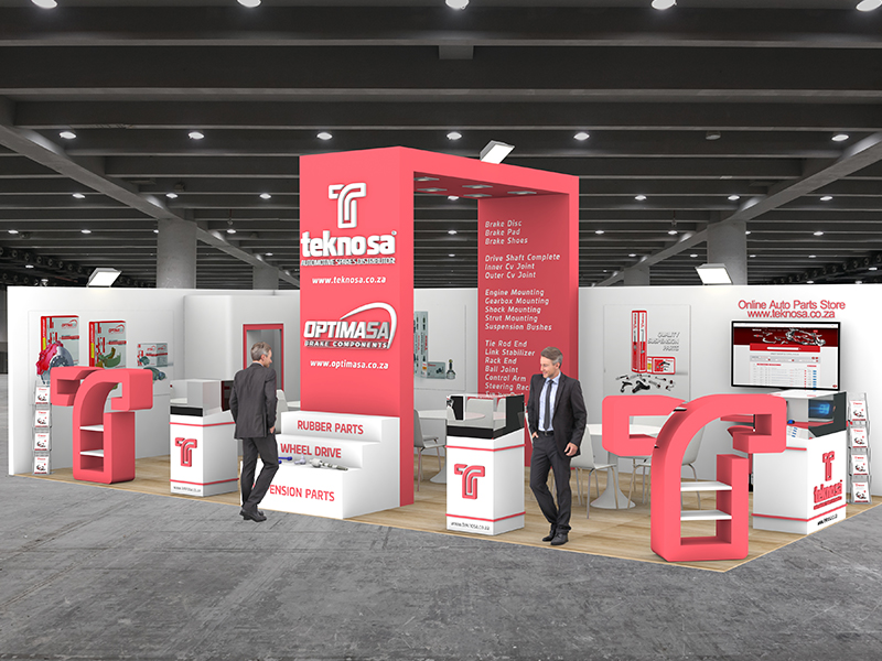 Teknosa Exhibition Stand